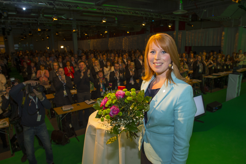 130322 Stockholm Invignings tal med Annie samt ankoms och Kommitevandring.Foto: Patrick Trägårdh